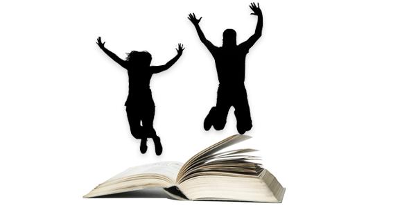 Springen uit het Boek