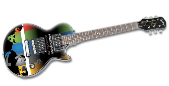 newsboys gitaar