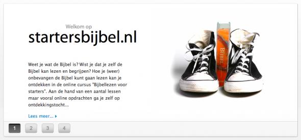 Startersbijbel iBlogPro